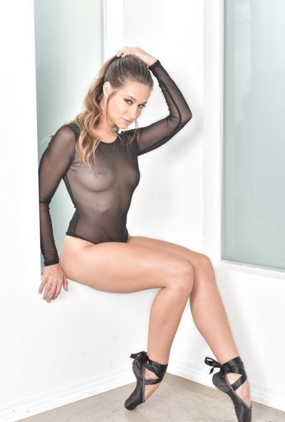 Photo №1 Hot Cassidy Klein posing in sex bodysuit with butt plug