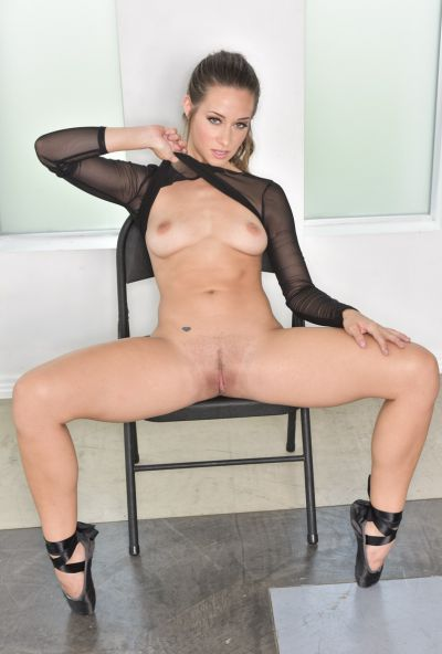 Photo №12 Hot Cassidy Klein posing in sex bodysuit with butt plug
