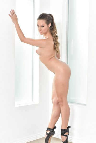 Photo №16 Hot Cassidy Klein posing in sex bodysuit with butt plug