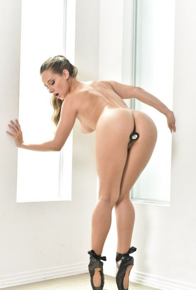 Photo №19 Hot Cassidy Klein posing in sex bodysuit with butt plug