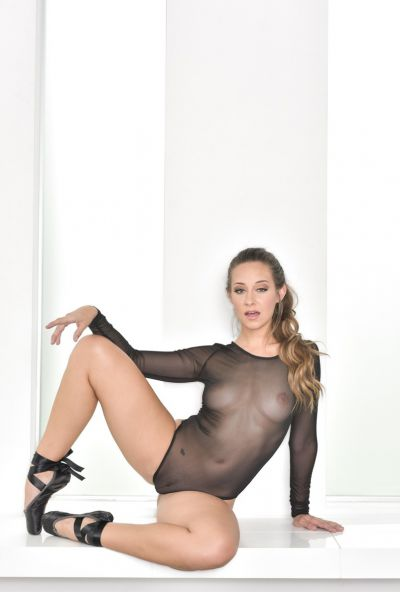 Photo №8 Hot Cassidy Klein posing in sex bodysuit with butt plug