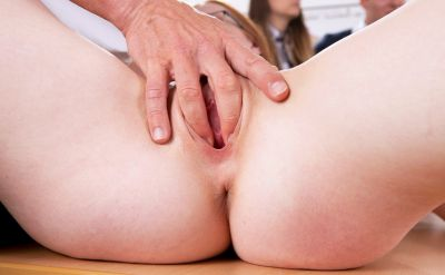 Photo №13 Teacher fucked redhead student Linda Sweet in a classroom