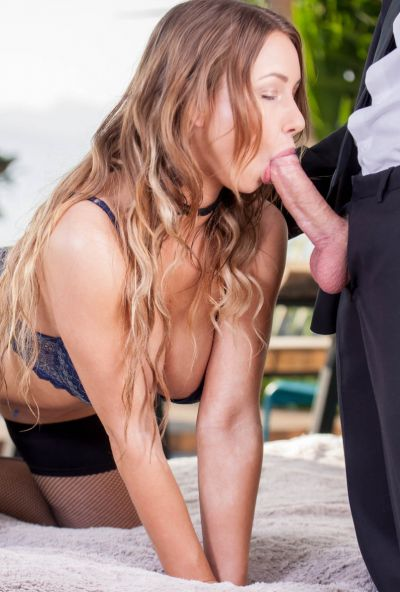 Photo №11 27 yo babe in stockings Taylor Sands gets cum on her face after anal sex