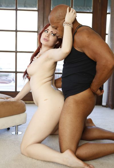 Photo №12 Redhead woman Jessica Ryan gets fucked by thick black guy's cock