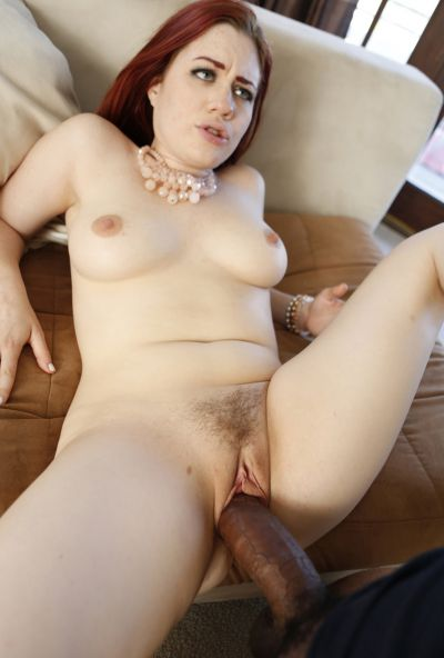 Photo №13 Redhead woman Jessica Ryan gets fucked by thick black guy's cock