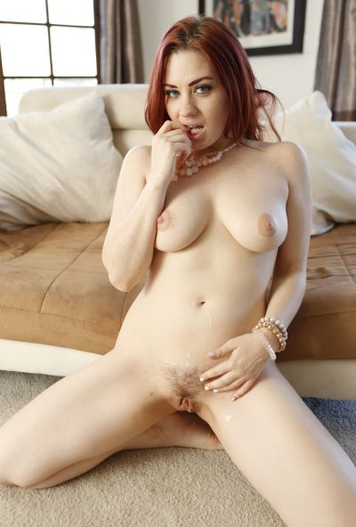 Photo №20 Redhead woman Jessica Ryan gets fucked by thick black guy's cock