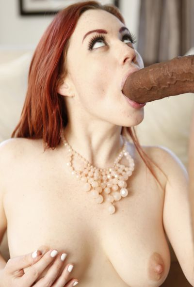 Photo №8 Redhead woman Jessica Ryan gets fucked by thick black guy's cock