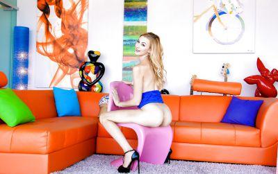 Photo №10 Beautiful blonde porn model Alexa Grace is casting