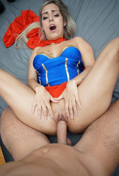 Photo №17 Blonde Latina with big ass & tits Mia Linz gets fucked POV