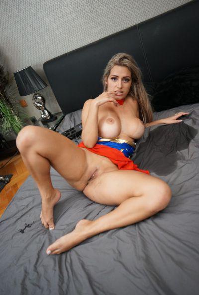Photo №20 Blonde Latina with big ass & tits Mia Linz gets fucked POV