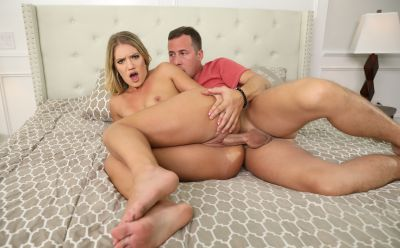 Photo №14 Hot blonde Candice Dare gets hard fucked and tooks cum on her big juicy ass