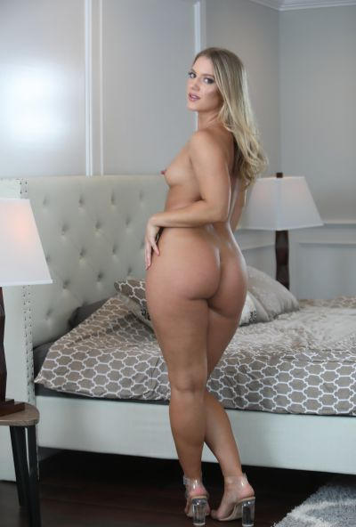 Photo №6 Hot blonde Candice Dare gets hard fucked and tooks cum on her big juicy ass