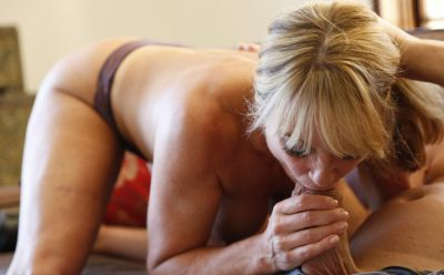 Photo №6 Sexy mature blonde Shayla LaVeaux gets fucked hard with huge dick