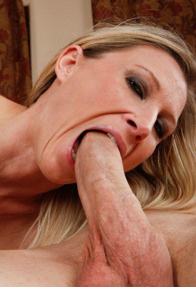 Photo №13 Blonde woman with big tits Devon Lee sucking & riding big cock