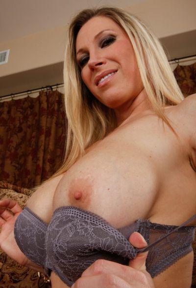 Photo №4 Blonde woman with big tits Devon Lee sucking & riding big cock