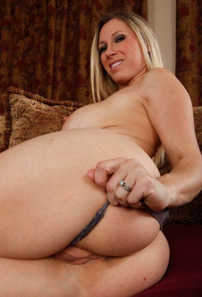 Photo №5 Blonde woman with big tits Devon Lee sucking & riding big cock