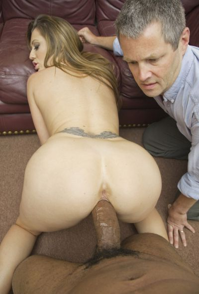 Photo №16 Husband watches black man fucks his mature wife Brooklyn Jade with BBC