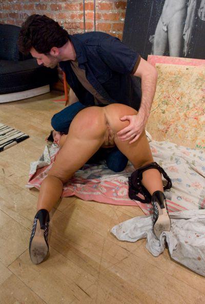 Photo №18 A student spanked hard sexy elderly teacher Lisa Ann