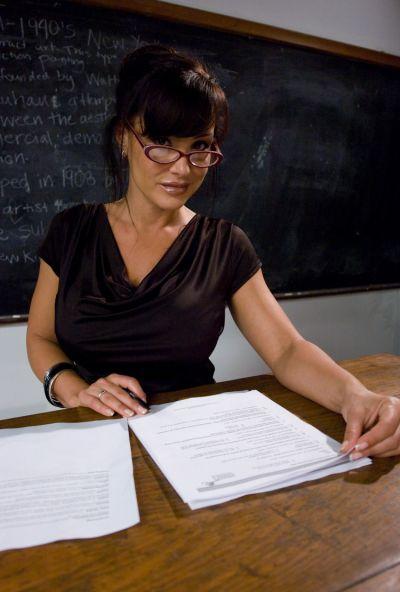Photo №2 A student spanked hard sexy elderly teacher Lisa Ann