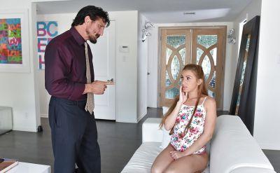 Photo №1 Mom teaches stepdaughter oral sex