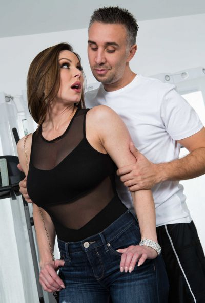 Photo №2 Sexy MIFL Kendra Lust has anal sex in gym with her personal trainer