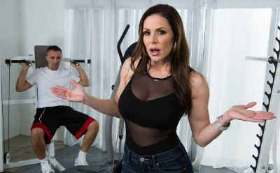 Photo №3 Sexy MIFL Kendra Lust has anal sex in gym with her personal trainer