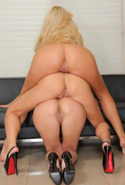 Photo №15 Triple ass from hot MILFs Breanne Benson, Romi Rain and Summer Brielle