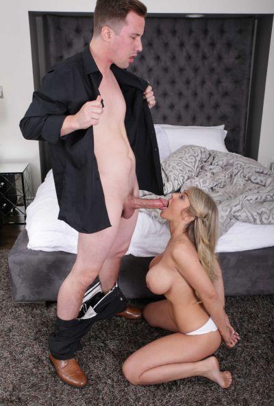 Photo №8 Busty blonde Kayla Kayden gets punished by her husband