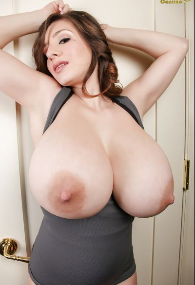Photo №11 Brunette September Carrino threw out huge boobs