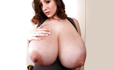 Photo №16 Brunette September Carrino threw out huge boobs