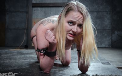 Photo №10 Blonde Iris Rose endures humiliation in chains