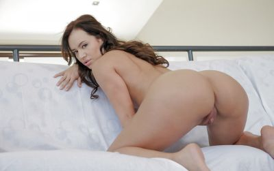 Photo №15 Sexy brunette Franceska Jaimes gets fucked her anus