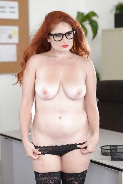 Photo №11 Redhead curvy secretary Lennox Luxe