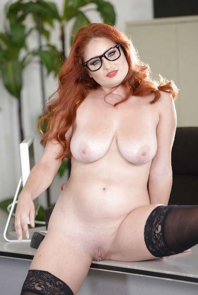 Photo №13 Redhead curvy secretary Lennox Luxe