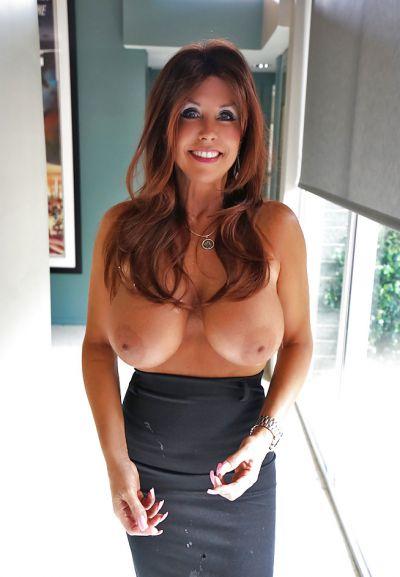 Photo №14 Mature brunette with big tits Sandra Otterson