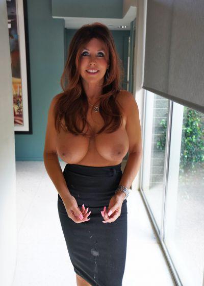 Photo №15 Mature brunette with big tits Sandra Otterson