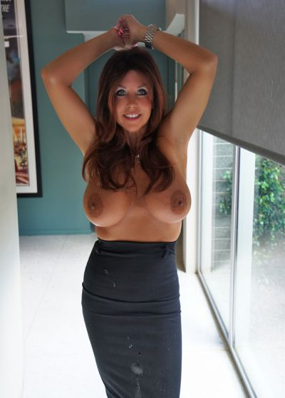 Photo №16 Mature brunette with big tits Sandra Otterson