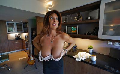 Photo №8 Mature brunette with big tits Sandra Otterson