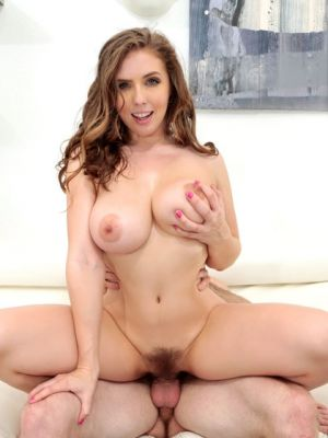 Busty pornstar Lena Paul jumped on cock